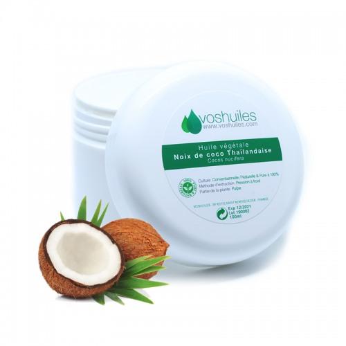 Huile Végétale de Noix de coco Thaïlandaise