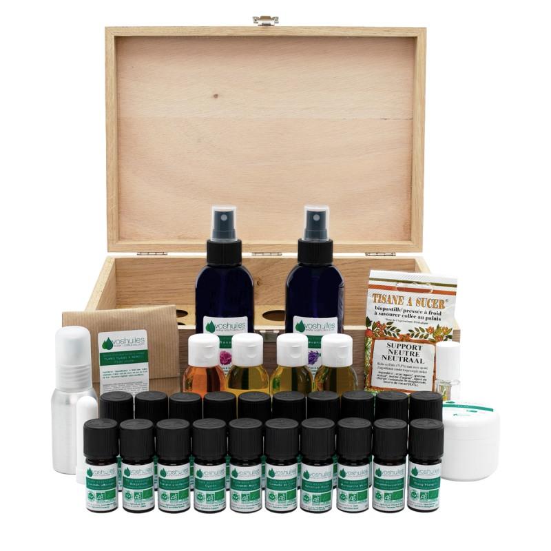 Coffret Premium Aromathérapie