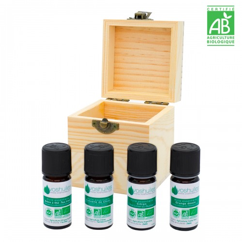 Coffret Noël - 4 huiles essentielles