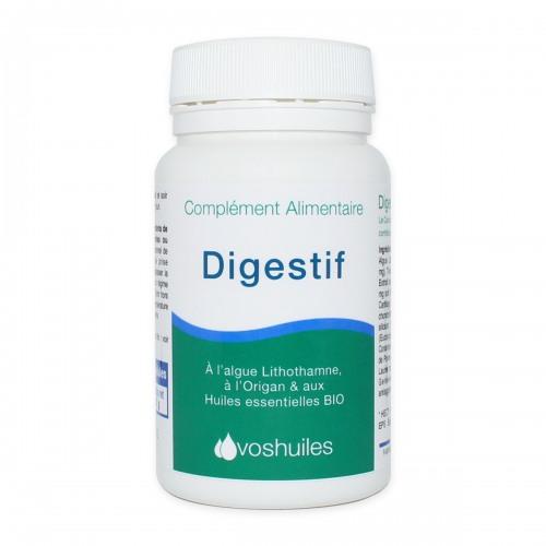 Digestif, Complément Alimentaire à l'Algue de lithothamne et aux Huiles essentielles