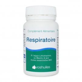 Respiratoire, Complément Alimentaire à l'Algue de lithothamne et aux Huiles essentielles
