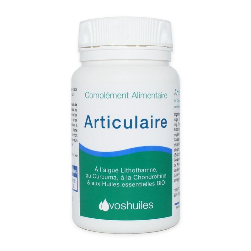 Articulaire - Complément Alimentaire à l'Algue de lithothamne et aux Huiles essentielles