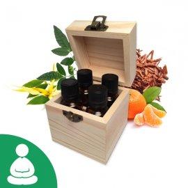 Coffret Huiles essentielles Méditation