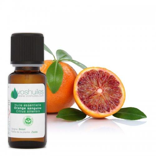 Huile Essentielle d'Orange sanguine de Malte