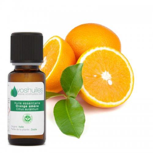Huile Essentielle d'Orange Amère