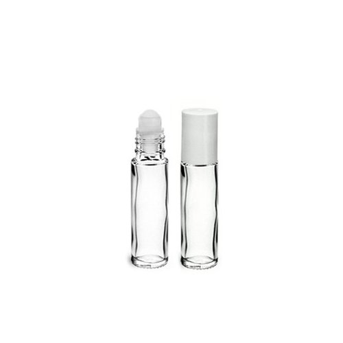 ROLL-ON 10ML en verre blanc transparent