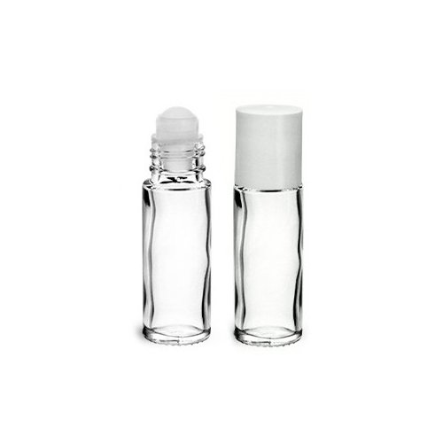ROLL-ON 30ML en verre blanc transparent