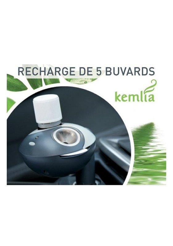 lot de 5 tampons buvards pour diffuseur d 39 huiles essentielles de voiture kemlia. Black Bedroom Furniture Sets. Home Design Ideas