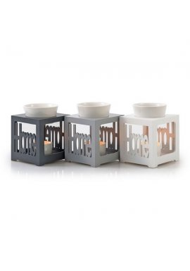 Lot de 3 brûle-parfums Home