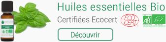 Huiles essentielles Bio Certifiées Ecocert