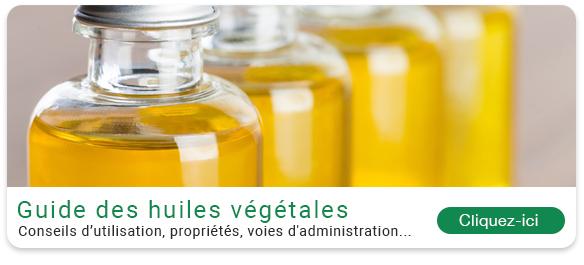 Guide des huiles végétales