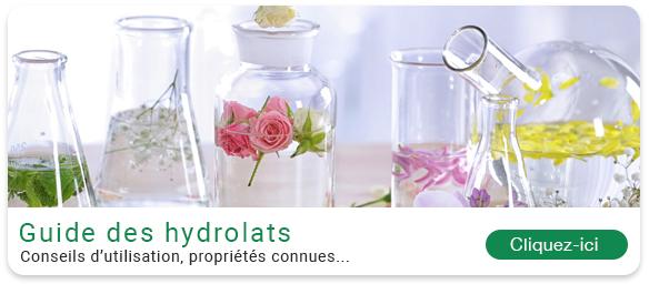 Guide des hydrolats, eaux florales